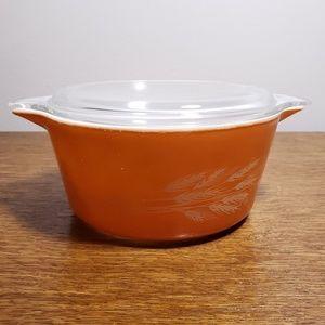 Vintage BurntOrange Autumn Harvest Pyrex Dish 1.5L